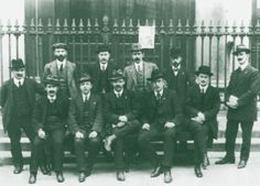 The national executive of the Irish Trades Union Congress and Labour Party in 1914.