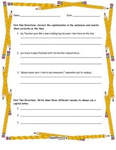 Check in with students to see if they are capitalizing correctly and using proper punctuation when using dialogue.  This two page quiz aligns with the Common Core for ELA language use standards. Using this quiz to monitor student progress will help assess where specifically students may require additional support or practice.