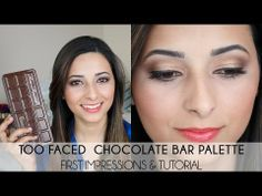 too faced concealer before and after. too faced chocolate bar palette first impressions + tutorial concealer before and after