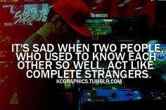 sometimes sad, sometimes for the better