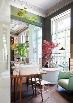 Un cuarto de baño sofisticado y fresco | Decoratrix | Decoración, diseño e interiorismo