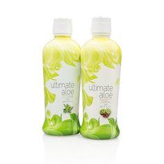 Bebida de aloe Ultimate Aloe.Los intolerantes a la lactosa tiene aquí el mejor de los desayunos. es.shop.com/nutritiendaonline