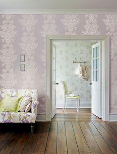 wallpaper love {living room}