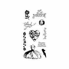 Inkadinkado Clear Stamps - Friendship