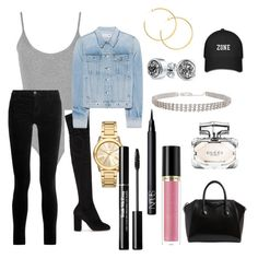"""Untitled #200"" by sdesir on Polyvore featuring WearAll, J Brand, Dolce&Gabbana, rag & bone, Bling Jewelry, Michael Kors, NARS Cosmetics, Revlon, Givenchy and Gucci"