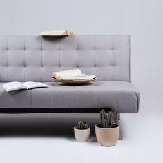 Sofa rozkładana Boomer, jasnoszara