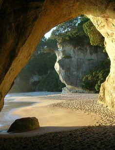 Cathedral Cove, Coromandel Peninsula, North Island, NZ