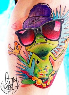 Cartoon Tattoo by Lehel Nyeste | Tattoo No. 12783