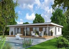 Moderne Bungalows fertighaus bungalow finess 135 büdenbender hausbau pool ideas