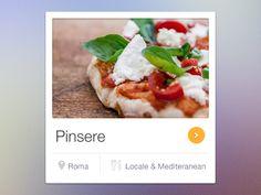 Restaurant-widget