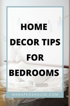 OMG! After searching for some home decor ideas I am so excited to share the best tips and tricks to decorate your master bedroom and create a gorgeous space you will love! | master bedding | bedding bedroom | bedroom bedding #bedding design ideas #bedding master bedroom #comforter bedroom Bedroom Bed, Master Bedroom, Bedroom Organization Diy, Set Of Drawers, Large Pillows, Comforter, Bedding, Searching, Tips