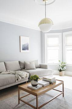 light white simple living room