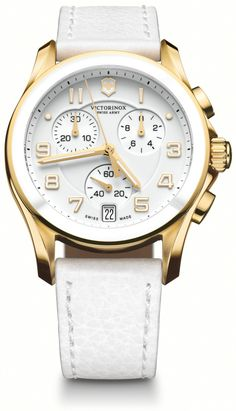 75630c275f0 Victorinox Swiss Army Chrono Classic Womens Watch 241511  585 Telling Time