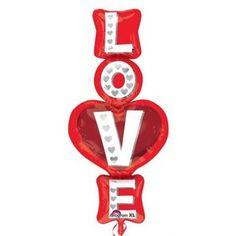 Ver detalles de Globo love XL