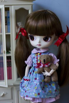 Flickr Gertie and teddy by JenWren