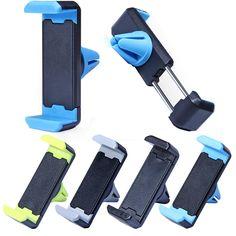 Sostenedor Del Teléfono Del Coche Universal 360 Rotación Ajustable Del Sostenedor Del Coche Para iphone 7 samsung air vent mount soporte de coche para iphone accesorios