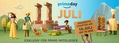 https://www.stellencompass.de/amazon-feiert-den-dritten-prime-day/ Amazon feiert den dritten Prime Day - Erstmalig über 30 Stunden, mit weltweit hunderttausenden Angeboten am 11. Juli  gd.ots.m,h- Prime-Mitglieder können 30 Stunden auf Angebote zugreifen - ab dem 10. Juli um 18:00 Uhr - Fast 40 Prozent der weltweiten Blitzangebote kommen in diesem  Jahr von Unternehmen und Händlern Am Dienstag, den 11. Juli 2017 findet Amazons jährlicher Prime Day