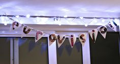 Eurovision bunting / banner party ideas