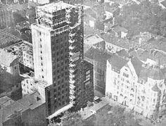Warszawa międzywojenna - budowa Prudentialu