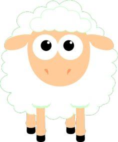 sheep Sheep Template, Sheep Silhouette, Sheep Logo, Art Sketches, Embellishments, Applique, Digital Art, Doodles, Greeting Cards