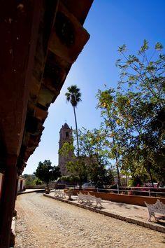 Iglesia de San José, construida en 1775, Copala, Sinaloa // San José Church, built in 1775, Copala, Sinaloa.