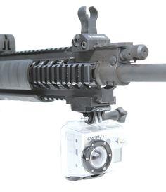 Strikemark Picatinny Rail Mount for GoPro HD Cameras $30