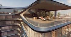 If you're in the market for a swanky new penthouse in New York City, then you may want to check out Zaha Hadid's building on 520 West 28th Street.