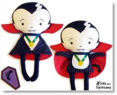 Winner of the Halloween Vampire doll pattern! · Felting | CraftGossip.com
