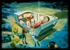 Spend the night at Jules underwater lodge - a hotel on the bottom of the ocean at Key Largo, Florida