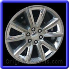 Chevrolet Suburban Wheels & Rims Hollander #5696 #Chevrolet #Suburban #ChevySuburban #Wheels #Rims #Stock #Factory #Original #OEM #OE #Steel #Alloy #Used