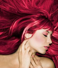 red hair extensions your hair extensions cost guide Love Hair, Great Hair, Gorgeous Hair, Beautiful, Awesome Hair, Matrix Hair Color, Hair Color Highlights, Dye My Hair, New Hair