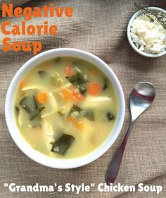 Dr Oz shared his recipe for vegetable-packed Negative Calorie Soup. Healthy Vegan Snacks, Healthy Filling Snacks, Healthy Pasta Recipes, Healthy Pastas, Healthy Appetizers, Healthy Foods To Eat, Vegetable Recipes, Soup Recipes, Snacks Recipes