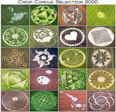 CROP CIRCLE....PARTAGE OF... UFO KRUHY V OBILI...ON FACEBOOK..