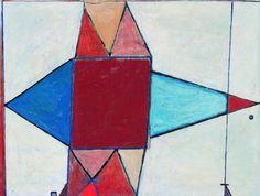 """Jerzy Nowosielski, """"Zima w Rosji"""" (1947) Abstract, Drawings, Artwork, Paintings, Artists, Summary, Work Of Art, Auguste Rodin Artwork, Paint"""