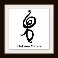 Hakuna Matata Cross Stitch Pattern | Los Angeles Needlework