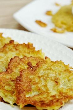 Baked Latkes ~ What a great idea to bake these! Loved the concept and the flavor was nice ,, It made serving these as an appetizer to my meal very easy - no standing over a pan frying.