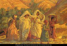 Arab Women and Children - Alphonse Etienne Dinet