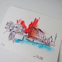 postcards of #hamburg #hh #moin #ahoi #sketch #sketchbook #skizze #kunst #art #city #urban #hafencity   zeichnung und foto: christian wagner Postcards, Sketch, Christian, Urban, Instagram Posts, Art, Sketches, Hamburg, Kunst