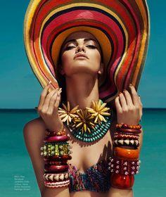 Harper's Bazaar Mexico July 2013 Editorial - Barbara Fialho