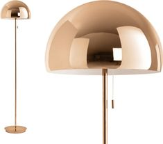 Collet Floor Lamp, Champagne Copper from Made.com. It's fun, it's fancy and it won't break the bank. The Collet floor lamp is seeking lounge to ligh.. Floor Lamp, Sweet Home, Lounge, Room Decor, Champagne, Flooring, Copper, Interior Design, Living Room