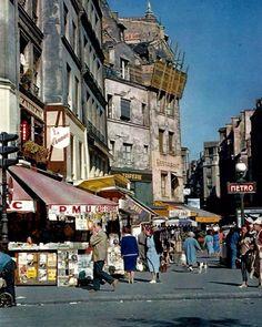 Old Paris, Paris Love, Vintage Paris, French Vintage, Paris City, Paris Street, Street View, Paris France, Metro Paris