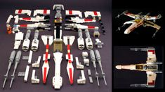 Rejoice, fellow Lego nerds, because Mike Psiaki just sent me the instructions and a part list for the best Lego X-Wing model ever created. Yes, my friends, now you can build your own.