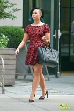 Demi Lovato New York City October 28, 2014
