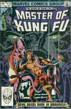 Gene Day's masterful artwork on Marvel Comics' Master of Kung Fu. I had quit reading it when Paul Gulacy left, but day brought me back!