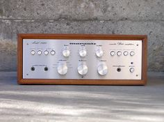 """Marantz - Model 1060 ,Vintage Integrated Stereo Amplifier"" !...  http://about.me/Samissomar"
