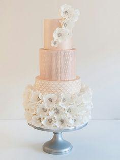 Uniquely Southern Wedding Cakes | Pinterest | Peach wedding cakes ...