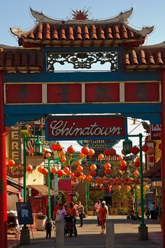 Las Angeles Chinatown.