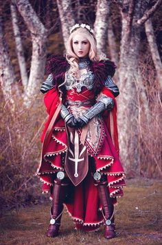 Awesome female Cullen from Dragon Age Inquisition @enayla Cosplayer: Enayla Cosplay