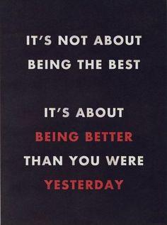 ~ be better ~