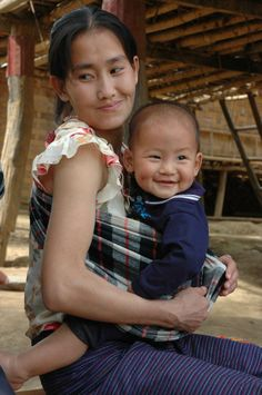New mum Yeng, from Laos, receives support and advice from her mother ...